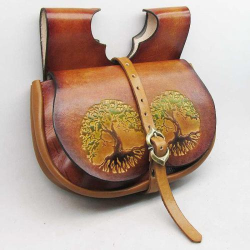 Marketender Nierentasche-cognac-tree