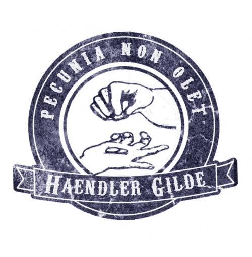Logo Haendlergilde-blau-weiss-antik
